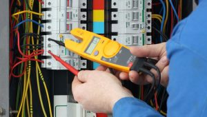 commercial electrical services with switchboard testing and services