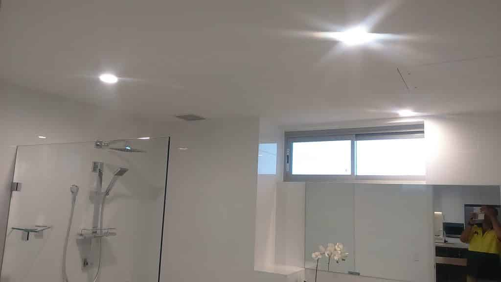 shower light with lighting service electrical services sydney